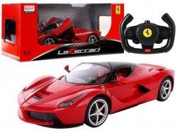 Auto R/C Ferrari Rastar 1:24 Czerwone na pilota