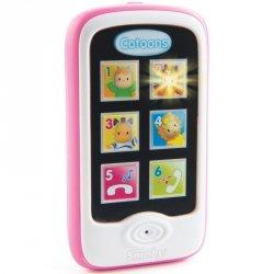 Smoby Cotoons Różowy Smartfon Telefon