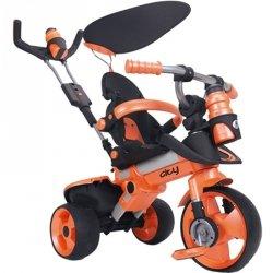 Injusa Rowerek Trójkołowy City Trike Ciche Koła 3 w 1 + Bramka Gratis
