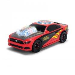 Dickie Racing Muzyczny samochód wyścigowy Ford Mustang ze światłem i dźwiękiem