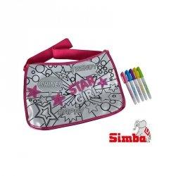 Simba Color Me Mine Cekinowa Torba Maxi Hipster + 5 flamastrów HIT Reklama TV