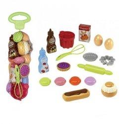 Zestaw produktów spożywczych do wypieków - Ecoiffier