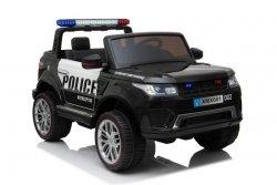 JEEP POLICJA 4X4, 2x12V Z  AMORTYZATORAMI, PILOT,  FUNKCJA BUJANIA, REDUKTOR/ XMX-601