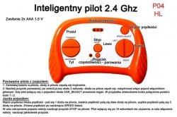 Pilot zdalnego sterowania w technologii 2.4 Ghz do pojazdów HL-169 I HL