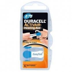 Duracell A675/DA675/ZL675, Zinc air cells, 6 pc(s)