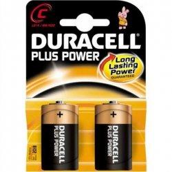 Duracell C/LR14, Alkaline Plus Power MN1400, 2 pc(s)