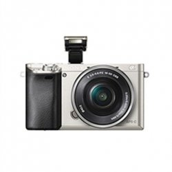 Sony ILCE6000LS.CEC Body + 16-50mm Lens Mirrorless Camera Kit, 24.3 MP, ISO 51200, Display diagonal 3.0 , Video recording, Wi-F