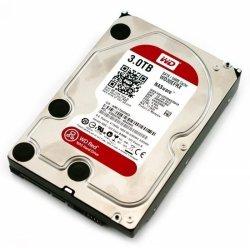 Western Digital Red 3TB SATA 6 Gb/s 5400 RPM, 3000 GB, 64 MB