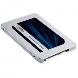Crucial MX500 2000 GB, SSD interface SATA, Write speed 510 MB/s, Read speed 560 MB/s