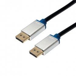 Logilink Premium DisplayPort Cable 2 m, Black
