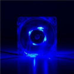 Logilink acrylic with 4x blue LED FAN102 Case fan