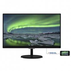Philips 237E7QDSB 23 , Glossy, FHD, 1920 x 1080 pixels, 16:9, 5 ms, 250 cd/m², Black