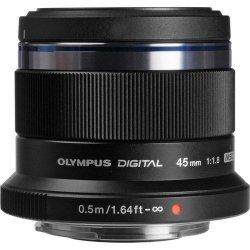 Olympus M.ZUIKO DIGITAL 45mm 1:1.8 / ET-M4518 black Olympus