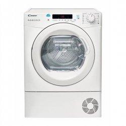 Candy Dryer Mashine CS H8A2DE-S Heat pump, Heat pump, 8 kg, Energy efficiency class A++, White, Depth 59.5 cm, LCD, Display