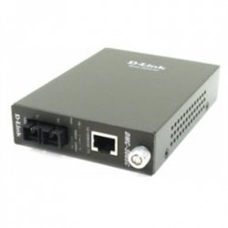 D-Link DMC-300SC Media from 100BASE-TX to twisted pair in 100BASE-FX for the multi-fiber (2km, SC)