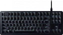 Razer BlackWidow Lite - Silent, Gaming, US, Black, Wired, Mechanical Keyboard (Orange Switch),