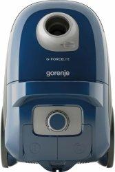 Gorenje Vacuum cleaner VCEA22GLBU Bagged, Blue, 700 W, 3 L, A, A, C, A, 64 dB,