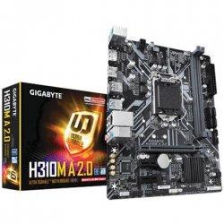 Gigabyte H310M A 2.0 Processor family Intel, Processor socket LGA1151, DDR4 DIMM, Memory slots 2, Number of SATA connectors 4 x