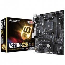 Gigabyte GA-A320M-S2H 1.0 Processor family AMD, Processor socket AM4, DDR4 DIMM, Memory slots 2, Chipset AMD A, Micro ATX