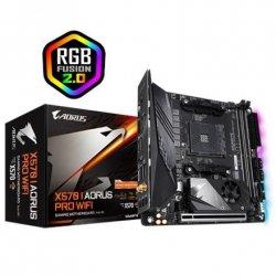 Gigabyte X570 I AORUS PRO WIFI Processor family AMD, Processor socket AM4, DDR4, Memory slots 2, Chipset AMD X570, Mini ITX