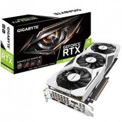 Gigabyte GV-N207SGAMINGOC WHITE-8GC NVIDIA, 8 GB, GeForce RTX 2070 SUPER, GDDR6, PCI-E 3.0 x 16, Processor frequency 1815 MHz,