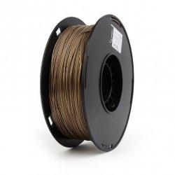 Flashforge PLA-plus filament, gold metal color, 1.75 mm, 1 kg