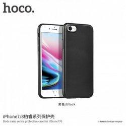 Hoco. Bode raise series Case, Apple, iPhone 7 Plus /8 Plus, PC back +TPU four edges surrounded, Black