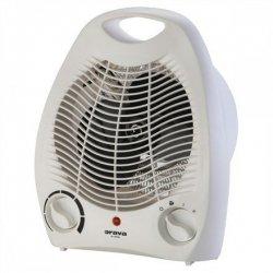 ORAVA VL-200 A Fan heater, Number of power levels 2, 1000/ 2000 W, White