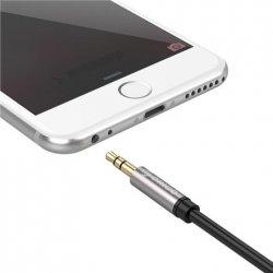 ORICO AM-M1-20-BK-BP 3.5mm M to M Aluminum Alloy Shell Audio Cable (AM-M1) Orico ORICO AM-M1-20-BK-BP 3.5mm M to M Aluminum Allo