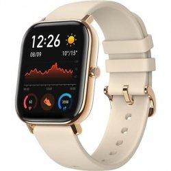 Amazfit Smart Watch GTS Desert Gold, 24/7, 220 mAh, Touchscreen, Bluetooth, Heart rate monitor, GPS (satellite), Waterproof