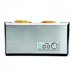 Gastroback Toaster PRO 4S 42398 Stainless Steel/ black, Stainless steel, 1500 W, Number of slots 4, Number of power levels 9, B