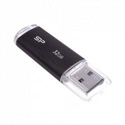 Silicon Power Ultima U02 32 GB, USB 2.0, Black