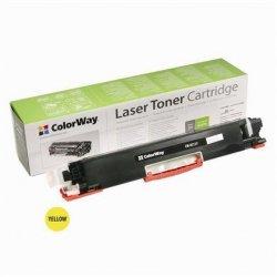 ColorWay Toner Cartridge, Yellow, HP CE312A (126Y); Canon 729Y