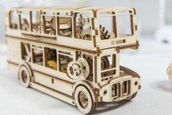 Drewniane puzzle mechaniczne 3D Wooden.City - Autobus #T1