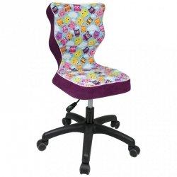 Krzesło PETIT czarny Storia 32 rozmiar 3 wzrost 119-142 #R1