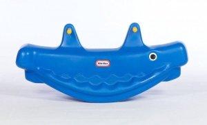 Little Tikes Wieloryb Na Biegunach Niebieski