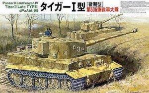 Tamiya Model plastikowy German Heavy Tiger I Late Version