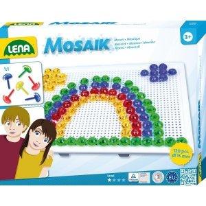 Lena Mozaika Tęcza 120 elementów 15 mm