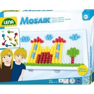 Lena Mozaika Zamek 200 elementów 10 mm