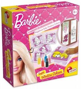 Lisciani Zestaw kreatywny Art&Craft Barbie - Farbki do malowania na szkle