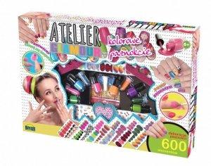 Dromader Atelier Glamour Kolorowe paznokcie