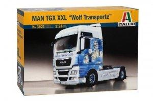 Italeri Man TGX XXL Wolf Transporte