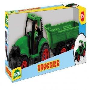 Lena Lena Truckies Traktor z przyczepa 38 cm