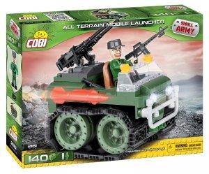 Cobi Klocki Kllocki Small Army 140 elementów Pojazd Gąsienicowy