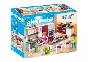 Playmobil Zestaw figurek Duża rodzinna kuchnia