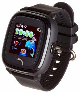 Garett Electronics Smartwatch, Zegarek Garett Kids 4 czarny