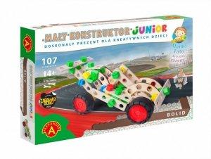 Zestaw konstrukcyjny Mały Konstruktor Junior 3w1 - Bolid