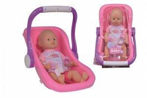Lalka New Born Baby w podróży