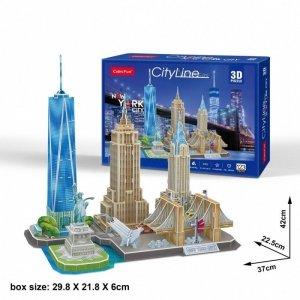 Cubicfun Puzzle 3D City Line New York