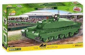 Cobi Klocki Klocki Armia Challenger II brytyjski czołg podstawowy